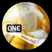 Презервативы ONE Banana Split (ароматизированные)