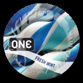 Презервативы ONE Fresh Mint (ароматизированные)