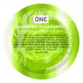 Презервативы ONE Glowing Pleasures (светящиеся)