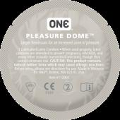 Презервативы ONE Pleasure Dome (анатомические)