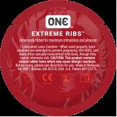 Презервативы ONE Extreme Ribs (ребристые)